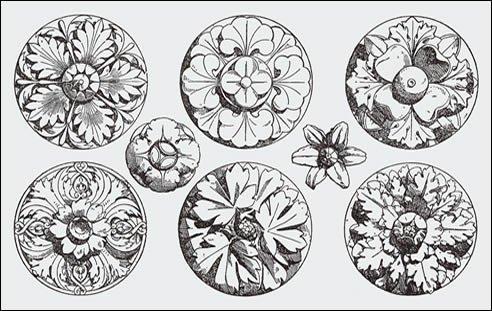 roman-ornamental-rosettes